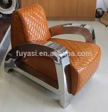 stainless steel modern furniture. stainless steel armrest european style furniture modern leather sofa yh133 l