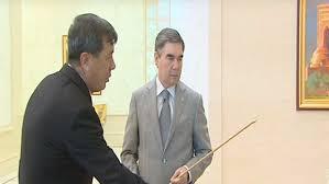 Картинки по запросу президент Туркмении