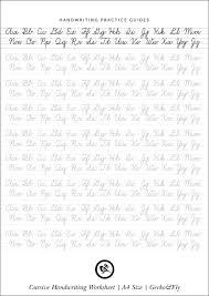 Handwritting Practice 5 Printable Cursive Handwriting Worksheets For Beautiful