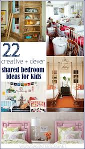 22 Creative + Clever Shared Bedroom Ideas for Kids - Jenna Burger