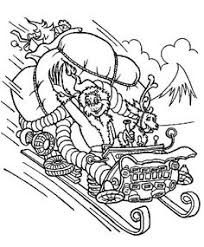 Small Picture how the grinch stole christmas coloring pages The Grinchs House