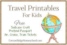 Free Passport Template For Kids Free Travel Printables For Kids Pretend Passport 52