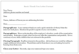 Email Thank You Letter Template Enchanting Template Letter Unsuccessful Job Interview New Sample Thank You