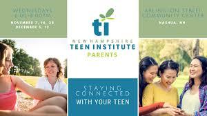 Parent center senior center teen