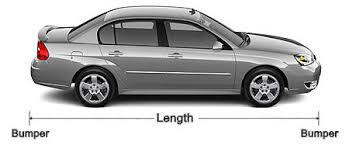 Wholesale Car Covers Car Sizing Chart