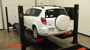 Trailer Hitch Installation CURT 13149 on 2007 Toyota RAV 4 - YouTube