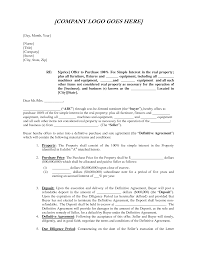 Letter Of Intent To Purchase Shares Business Template Besttemplates ...