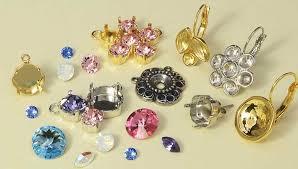 new gita jewelry settings and swarovski crystals