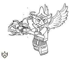 Small Picture Lego chima coloring pages eagle eris ColoringStar