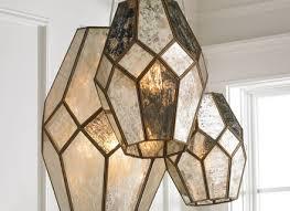 mercury glass chandelier beautiful swarovski crystals mercury glass