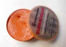 kryolan mandarin supracolor grease paint review