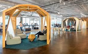 Studio OA cozy seating pods at Cisco Meraki Offices The