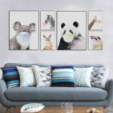 Zebra Print Living Room Decor Online Buy Wholesale Zebra Print Picture From China Zebra Print