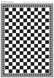Black And White Tiles Black And White Floor Tiles Checker Dolls House Accessories