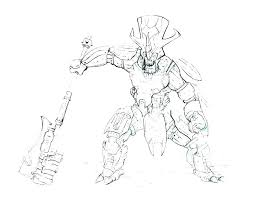 Halo 5 Coloring Pages To Print Halo Coloring Pages Halo Spartan