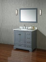 gorgeous design bathroom vanity set with mirror stufurhome hd 7130g 36 cr newport single sink 24 30