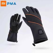 Xiaomi Mijia PMA Thermal Electric Battery <b>Heated Gloves</b> Winter ...