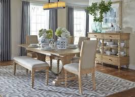 Harbor View 5 Piece Dining Set with Parsons Chairs