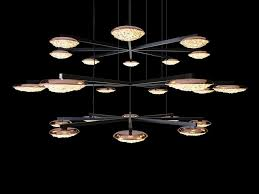 led crystal pendant lamp origo star crystal chandelier by manooi