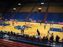 Ku Basketball Seating Chart Allen Fieldhouse Section 16 Rateyourseats Com
