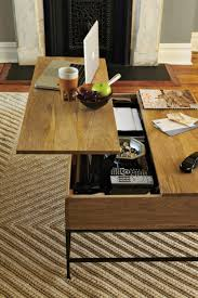 convertible coffee table into working place