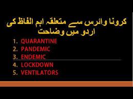 endemic definition in urdu