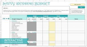 Wedding Planning Budget Spreadsheet Template Planner Free