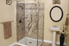 golden beaches diy shower wall panels with a corner shelf and acrylic base 48 x 36