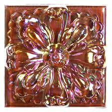 Decorative Relief Tiles Tile Relief Deco 100 X 100 Large Glass Flower Deco 100X100 Decorative 61