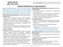 yan guo financial analyst resume package . financial reporting resumes
