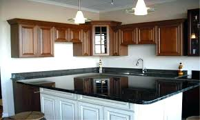 kitchen island overhang shapes cart quartz standard granite for bar stools