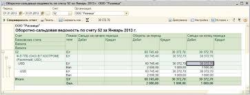 Учет суммовых и курсовых разниц у покупателя в ПП Бухгалтерия  рис 6 png