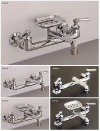 Small Picture Felicity Wall Mount Kitchen Faucet with Side Spray Laundry room