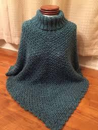 Chunky Crochet Poncho Pattern