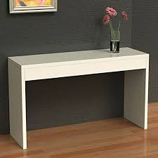Get Quotations · Convenience Concepts Northfield Hall Console Table White  Alibaba