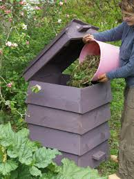 slat wood compost bin