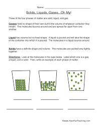 Solids-liquids-and-gases-worksheets & Particle Theory Worksheet ...