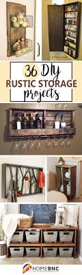 36 Best Diy Rustic Storage Projects Ideas And Designs For 2018