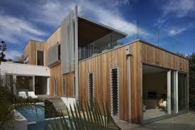 Amazing Modern Architectural House Designs With Wood Wall Panels ...