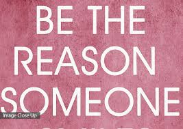 4 Word Quotes Classy Quotes Red Be The Reason Someone Smiles Today Canvas Art Prints
