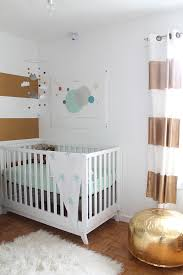 mint grey and gold nursery squirrelly minds