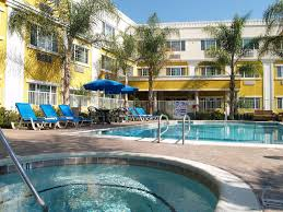 the swimming pool at or near holiday inn express suites garden grove anaheim south