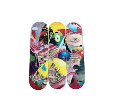 Artist Designed Skateboards Lot 4170 Erik Parker Rome Pays Off Skateboard Skate Deck