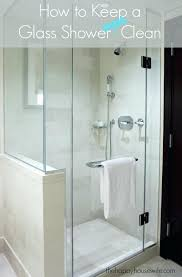 what to clean shower doors with how to keep a cleaning glass shower doors new the