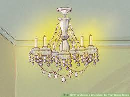 image titled choose a chandelier for your dining room step 2