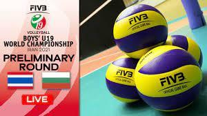 THA vs. BUL - Full Match   Group Phase   Boys U19 World Champs 2021 -  YouTube