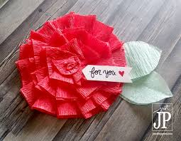 Make Crepe Paper Flower How To Make Crepe Paper Flowers May Flowers Challenge Tombow Usa