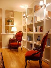 Living Room Shelves Design Functional And Stylish Wall To Wall Shelves Hgtv