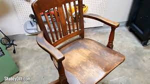 how to refinish antique old wood furniture
