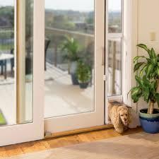 diy dog doors. Image Of: Patio Sliding Glass Dog Door Diy Doors R